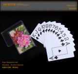 Cartões de jogo plásticos novos do PVC do projeto 100% da flor