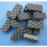 Piezas insertas conmovedoras de la quijada del carburo de tungsteno para la perforación del diamante