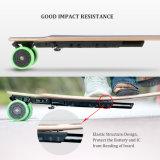 4 wielen en het Dubbele Elektrische Skateboard van de Motoren van de Hub met Afstandsbediening--D3m