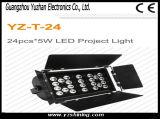 단계 24pcsx5w RGBW는 LED 지면 점화를 방수 처리한다