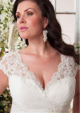 Шифоновые Bridal мантии плюс платье вечера Bt292 венчания пляжа размера