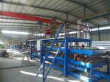 機械(特別にサンドイッチパネルの生産ライン)を形作るフルオートEPSサンドイッチ壁パネル