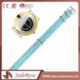 Vigilanza impermeabile del quarzo dell'acciaio inossidabile di modo del Wristband