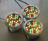 Lampada subacquea della fontana dell'indicatore luminoso/LED della fontana dell'indicatore luminoso/18W LED di Yaye 18 IP68 RGB 18W LED con il regolatore DMX512