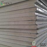 Aço Flat Surface PU / Polyurethane Sandwich Panel Building Material