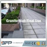 Сляб Gangsaw для плиток, строительный материал серого Countertop гранита G603 половинный лестниц
