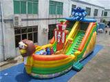 耐久の膨脹可能なスライド、子供のための警備員のスライド