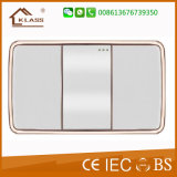 Hot Sale 1 Gang Door Bell Wall Switch avec lumière