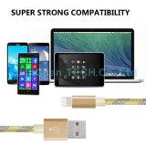 Datos de carga rápidos de la alta calidad que cargan el cable del USB para el iPhone