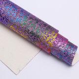 Colores de Muti que estampan para el cuero del PVC de la PU