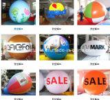 판매를 위한 최신 판매 팽창식 큰 달 헬륨 풍선