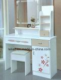 Mesa do computador de secretária da tabela do escritório de projeto simples com gabinete e gavetas