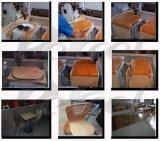 4 máquina de pedra de madeira do cortador do gravador do router 3D do CNC da linha central