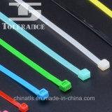 Fabricante de nylon de la atadura de cables con el gancho de leva y el bucle
