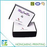 Empaquetage cosmétique de cadre de modèle pliable de Livre Blanc