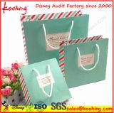 Laminierung kundenspezifische kosmetische Papiergeschenk-Beutel von der China-Fabrik