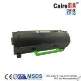 Ms310黒い互換性のあるトナーカートリッジForlexmark Ms310/410/510/610