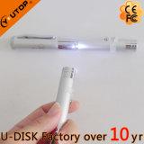 Double lecteur flash USB de type de crayon lecteur de lumière laser (YT-7105L)