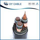 cable de transmisión del conductor del cobre de la envoltura de 0.6/1kv XLPE/PVC