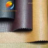 Nette Oberfläche PU-synthetisches Leder des Kleides