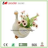 Polyresin Farm Cow Figurine Flowerpots para Casa e Jardim Decoração