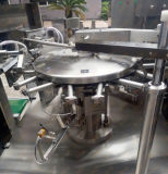 가득 차있는 자동 액체 충전물 기계