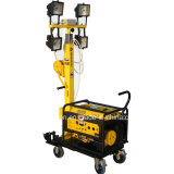 Wacker Gasoline Telescopic Mobil Lighting para la venta