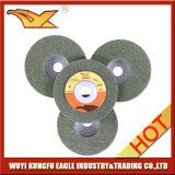 roue de polissage non tissée de 100X12mm (couleur verte, 120#)