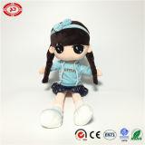 OEM van Doll van het Meisje van de baby het Pluche Gevulde Zachte Stuk speelgoed van de Kwaliteit