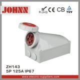 IP67 5p 125A eingehangene industrielle Oberflächenkontaktbuchse