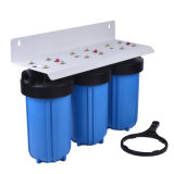 3 корпус фильтра голубой воды этапа 10 '' большой с патроном фильтра замены