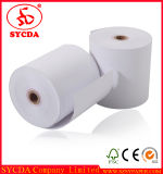57mm Calidad rollo de papel térmico con el paquete de papel de oro