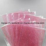 Стикер Scrapbooking Rhinestone мобильного телефона самоцвета DIY диаманта проблескивать слипчивый кристаллический для DIY оптом (TP-розовый стикер)
