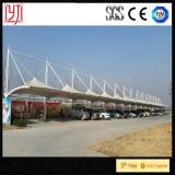 Tienda extensible del Carport de la tienda del estacionamiento del coche de la estructura de acero de la azotea de la membrana de PVDF