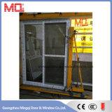 Puerta deslizante de cristal exterior de UPVC/PVC con el sistema de múltiples puntos del bloqueo