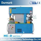 Máquina de perfuração de aço principal dobro hidráulica com sistema refrigerando automático 65t