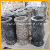 Multicolor Cemetery Memorial Tombstone Granite Lamp for Funerary
