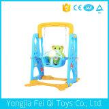 Качание крытого медведя игрушки подарка спортивной площадки пластичное многофункциональное для малышей