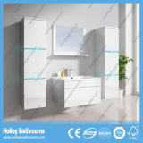 Der neuer LED-helle Noten-Schalter-High-Gloss Lack MDF-Möbel-Badezimmer-Schrank (B796D)