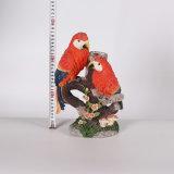 Perroquet animal de laiterie de yard de décoration de jardin de résine à vendre