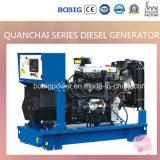 38kVA stille Diesel die Generator door Quanchai Engine wordt aangedreven