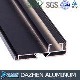 Perfil modificado para requisitos particulares del aluminio del aluminio 6063 para industrial anodizado