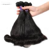 Het geprijste Directe Verkopende Haar van het Haar van de Hoogste Kwaliteit Onverwerkte 100% Braziliaanse Echte Menselijke Maagdelijke