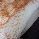 通関サービスは適正価格ののどの羊皮の毛皮のカーペットの敷物をサポートした