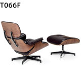 Cadeira confortável da sala de estar de Eames do lazer da sala de visitas quente da venda