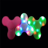 LED Hand Spinner Built in Battery Bluetooth Mini Speakers Fidget Spinner