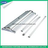 Das hochwertige flache Aluminium Unterseiten-Produkt rollen oben Ausstellung-Standplatz