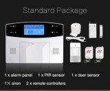 Sistema de alarma elegante de la seguridad del mejor de la venta detector de la electricidad