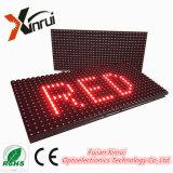 Módulo ao ar livre impermeável da tela de indicador do diodo emissor de luz P10 do único quadro de avisos do texto do diodo emissor de luz do vermelho