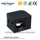 Galvanomètre à grande vitesse chinois populaire à lecture de la machine Jd2208 d'inscription de précision de laser d'Indsutry